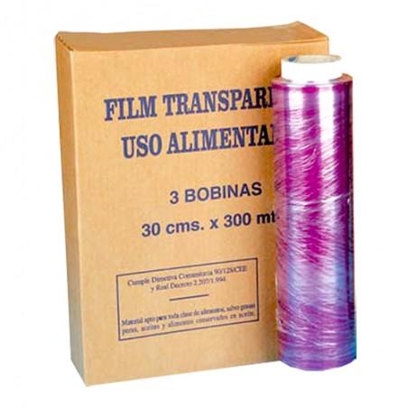 Limpieza Papel Film Transparente Rollo 30x300 M.